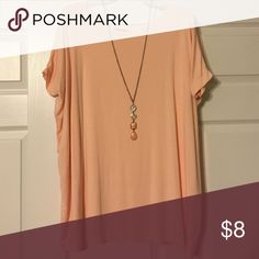 Pink Piko Shirt Perfect flowy Piko shirt. Easy to accessorize! Shirt only! ;) Tops Tees - Short Sleeve