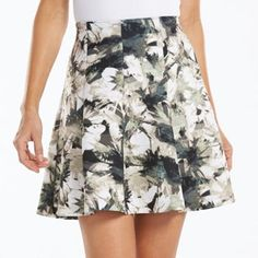 Apt. 9® Gored Scuba Skater Skirt - Women's