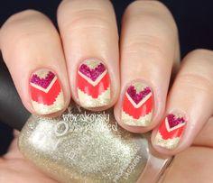 Nail Art How To: Tribal Nails
