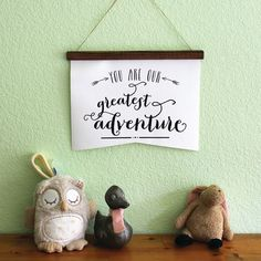 Nursery Decor  You are our greatest adventure wedding by CURLbyJSD