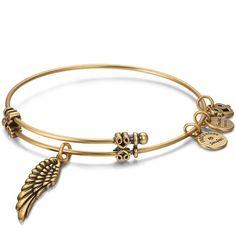 #Soufeel - #Soufeel Angel Wings Charm Bangle - AdoreWe.com