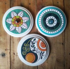 Ceramic Pottery, Pottery Art, Ceramic Art, Dot Art Painting, Pottery Painting, Fun Crafts, Diy And Crafts, Arts And Crafts, Diy Gift Box