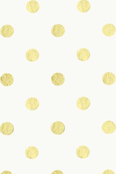 Gold/Cream Polka Dot iPhone Wallpaper by elizabethmaryy.deviantart.com on @deviantART
