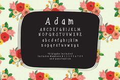 Adam Serif Font by OnTheSpotStudio