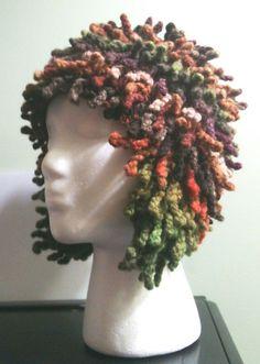 Free pattern at Ravelry: Sea Anemone Ear Flap Hat pattern by Ledra Slavik