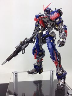Awesome custom build! (source: GUNDAM GUY: MG 1/100 Astray - Optimus Prime Custom Build http://gundamguy.blogspot.com/2012/07/mg-1100-astray-optimus-prime-custom.html)