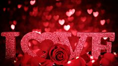#love #sparkle #redrose #valentinesday
