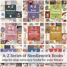 The A-Z Series: Another Great Series for your Bookshelf! – NeedlenThread.com