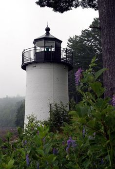 Whitlock's Mill #Lighthouse - #Maine   http://www.roanokemyhomesweethome.com