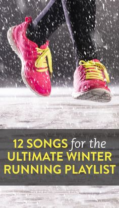 12 songs to amp up your cold weather run #exercise #gym #workout #running #music #health