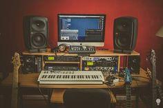 audiogear: Misha Mansoor's home studio.