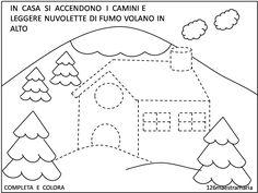 casetta invernale