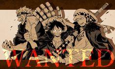 Anime One Piece, One Piece Comic, One Piece Fanart, Fairy Tail Funny, One Piece Pictures, Trafalgar Law, Fandom, I Love Anime, Pretty Art
