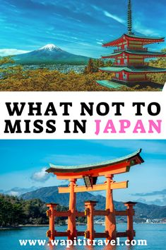 Why Japan should be on your bucket list? To experience the unique Japanese culture and much more. These are our greatest Japanese travel experiences. Japan Travel Guide, Tokyo Travel, Spain Travel, Asia Travel, Travel Guides, Travel Hacks, Japan Places To Visit, Visit Japan, Japanese Travel