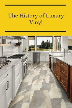 Let's dive into the interesting history of luxury vinyl. Flooring 101, Luxury Vinyl Flooring, Interesting History, Kitchen, Check, Home Decor, Cooking, Decoration Home, Room Decor