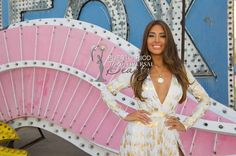 MISS UNIVERSE 2015 :: NEON MUSEUM, LAS VEGAS | Catalina Morales, Miss Universe Puerto Rico 2015, takes part in a pre tape segment for the Miss Universe Telecast at theThe Neon Museum Las Vegas on Friday, December 11. #MissUniverse2015 #MissUniverso2015 #MissPuertoRico #MUPR #MUPR2015 #MissUniversePuertoRico #CatalinaMorales #CatalinaMoralesGomez #LasVegas #Nevada