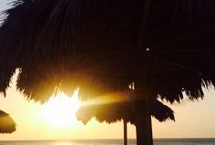 Picture-perfect sunsets @ Aruba