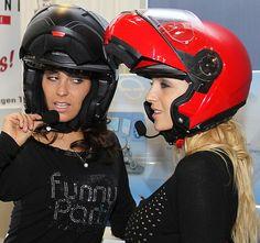 Biker Girl, Bicycle Helmet, Riding Helmets, Motorcycle, Girls, Leather, Women, Motorbikes, Little Girls