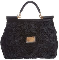 27bcbf712f Dolce   Gabbana Miss Sicily Handbag in Black