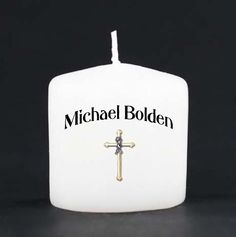 Baptism Votive Favors by IThinkICanDesigns on Etsy, $12.00