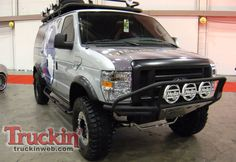 Sportsmobile 4x4 Interior | Ford Econoline 4X4