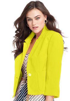 Jessica London  Cropped Blazer