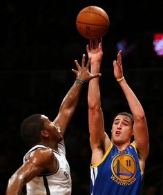 12.7.12 | Klay Thompson had 13 points and five rebounds.