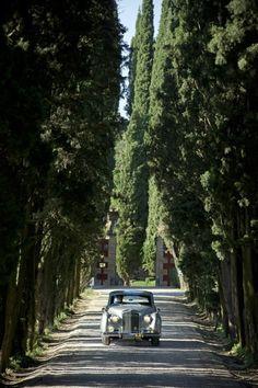 Enter the fabulous world of Villa Cordevigo - Vintage car - Villa Cordevigo