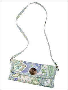Sewing - Handbag Patterns - Single Shoulder Strap Patterns - Wallet Purse Sewing Pattern