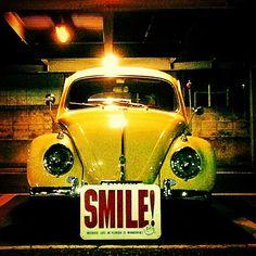 Smilin' VW Bug