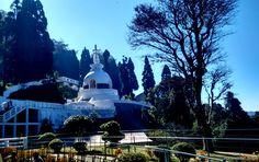 Peace Pagoda at Darjeeling