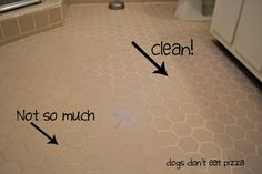 Best All-Natural Way to Clean Grout :: Hometalk