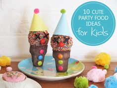 Planning a party? 10 cute food ideas for kids! #recipes