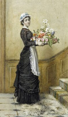 Maid, George Goodwin Kilburne.