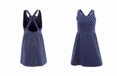 Vestido Chufa Azul www.trakabarraka.com