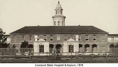 Liverpool State Hospital and Asylum in south western Sydney in 1876.A♥W