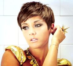 Pixie haircut! I like!