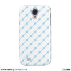 Blue Pattern Phone Case Available on many more products! Type in the name of this design in the search bar on my Zazzle products page!   #abstract #art #pattern #design #color #accessory #accent #zazzle #buy #sale #phone #case #tablet #wallet #sleeve #laptop #computer #gear #electronic #living #modern #iphone #apple #samsung #galaxy #mac #ipad #chic #contemporary #style #life #lifestyle #minimal #simple #plain #minimalism #square #line #white #blue
