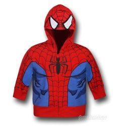 So Many Superhero Cosplay Hoodies, So Little Time Evan would die! Spiderman Images, Spiderman Kids, Superhero Kids, Superhero Party, Superhero Cosplay, Cool Jackets, Happy Family, So Little Time, Geeks