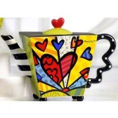Teapot - Romero Britto