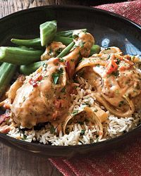 Chicken Smothered in Gravy Recipe on Food & Wine