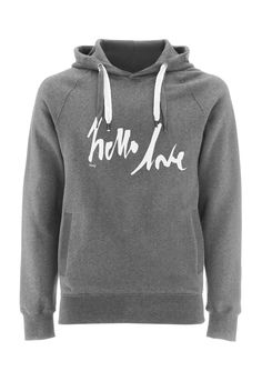 Hello Love Luxury Pullover Hoodie from BLAG