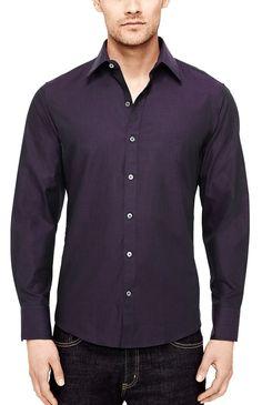 Zachary Prell Mosset Solid Shirt