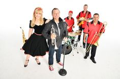"""Oldies Band in Orlando performing music from the to today current hits for your theme, sock hop or """"Back To The Future """" theme party Grease Theme, Corporate Entertainment, Sock Hop, All Band, Back To The Future, Party Themes, Costumes, Female, Chrome"""