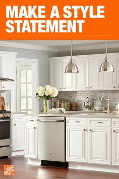The Home Depot Has Everything You Need For Your Improvement Projects Click Through To White Kitchen Cabinetskitchen Paintkitchen