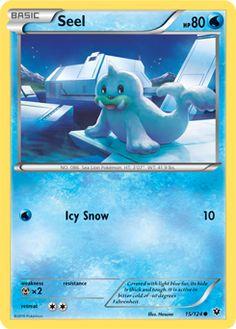 seel pokemon card