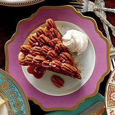 Salted Caramel-Chocolate Pecan Pie   MyRecipes.com