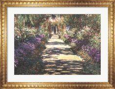 Garden at Giverny at FramedArt.com