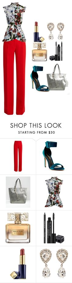 """""""office"""" by bilmari ❤ liked on Polyvore featuring Marco de Vincenzo, Liliana, Dune, Erdem, Givenchy, Rodial, Estée Lauder and Dolce&Gabbana"""