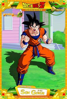 Dragon Ball Z - Son Gokuh by DBCProject.deviantart.com on @DeviantArt